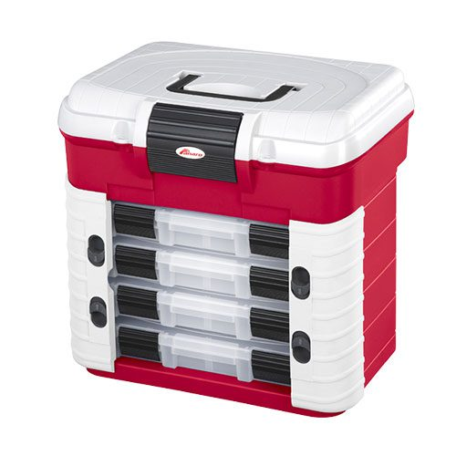 501SUPERBOX-RED Tool And Fixings Hardware Box