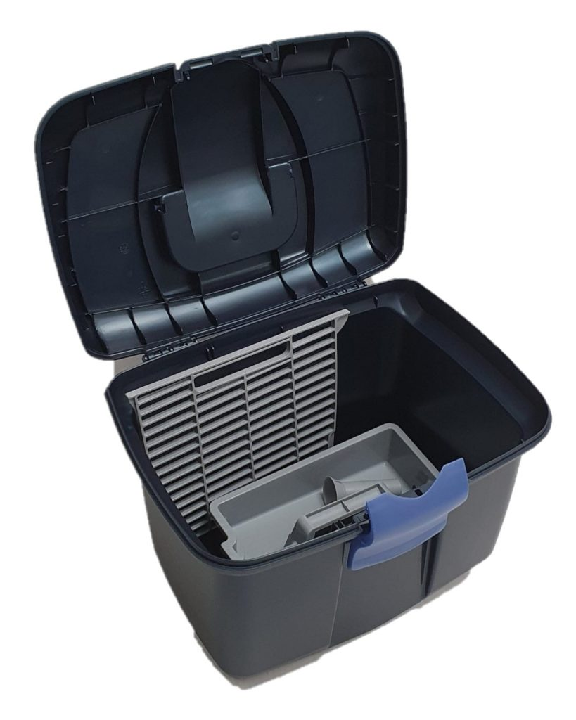 Horse Grooming Tack Box Pearl / Midnight Blue