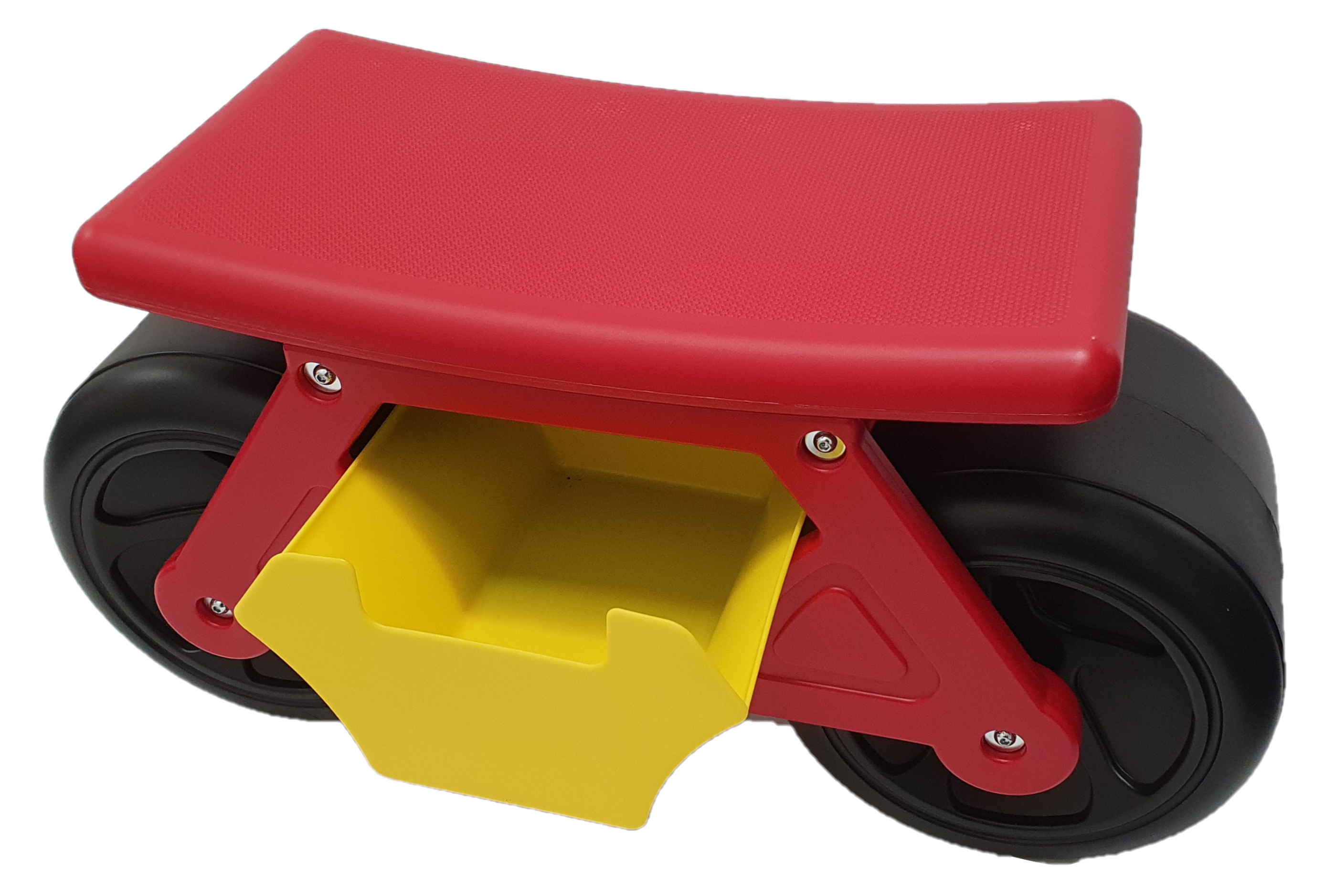 Challenger Wheeled Gardeners Stool - With Drawer & 2 X Side Tool Tray
